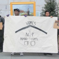 homes not handcuffs
