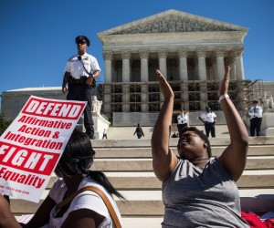 Image: U.S. Supreme Court Hears Arguments Over Michigan Affirmative Action Ban
