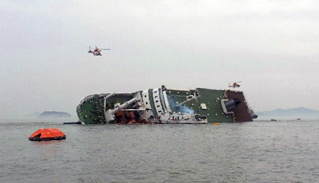 Passenger Ship Carrying 476 Is Sinking Off South Korea
