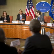 Barack Obama, Sylvia Mathews Burwell, Susan Rice, Thomas Freden