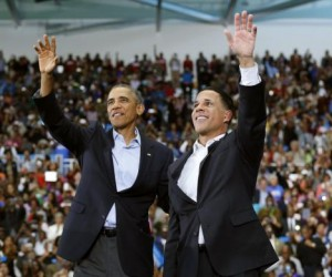 President Obama & Lt. Gov. Brown (D-MD)